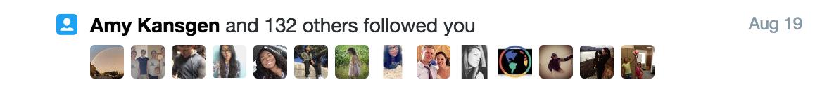 CHHS twitter followers